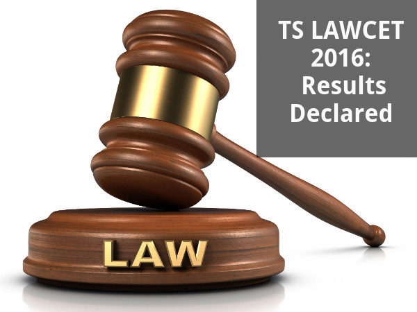 TS LAWCET 2016: Results Declared