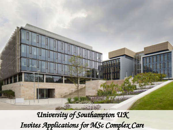 University of Southampton UK Invites Applications