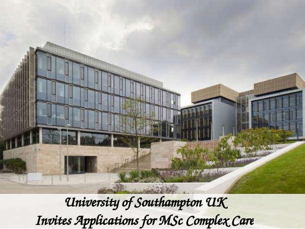 University of Southampton UK Invites Applications
