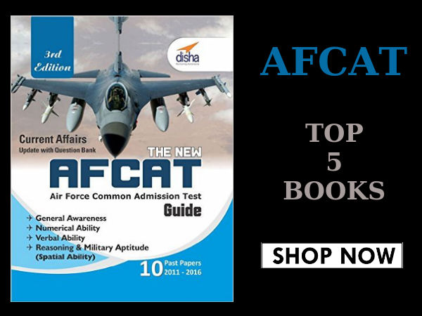 Prepare for AFCAT exam! Top 5 Best Selling Books