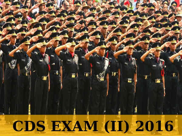 CDS EXAM (II) 2016: Apply Before August 12