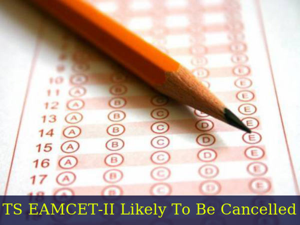 TS EAMCET-II Paper Leak: Exam To Be Cancelled