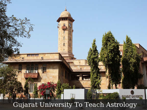 Guj Univ To Teach Astrology, Signs MoU with CRF