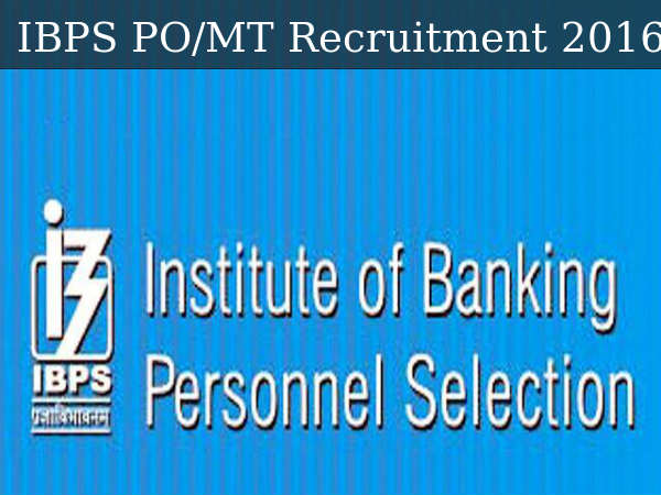 IBPS Invites Applications For PO/MT Recruitment