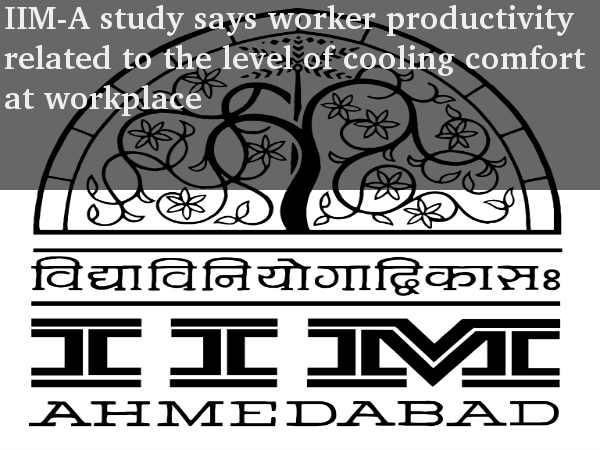 IIM-A study on worker productivity