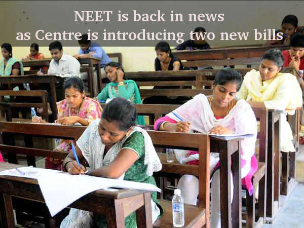 NEET is back in news