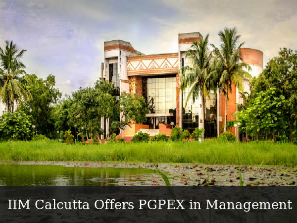 IIM Calcutta Offers PGPEX in Management