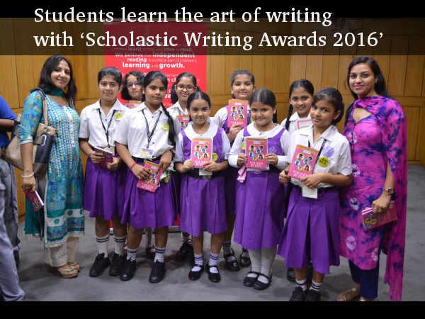 scholastic writing awards india