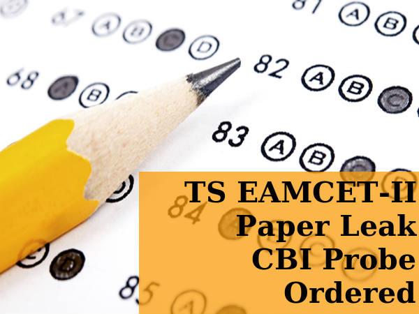 TS EAMCET-II Paper Leak CID Probe Ordered
