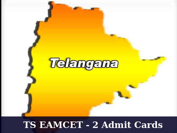 TS EAMCET 2: Admit Cards Available For Download
