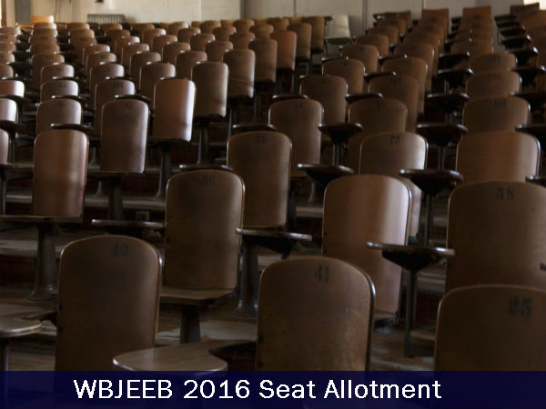 WBJEEB 2016 Seat allotment Results to be Announced