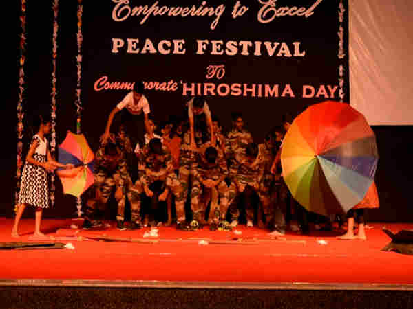 Christ School celebrates Peace Festival