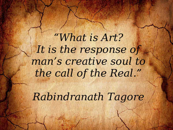 Tagore emphasized the following methods of teaching