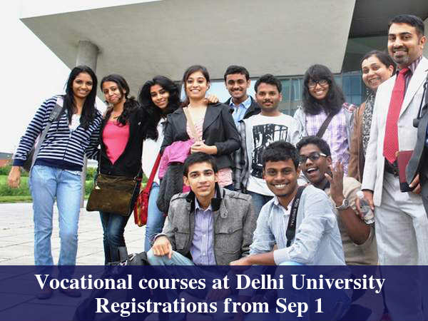 7 New Vocational Courses At Delhi University