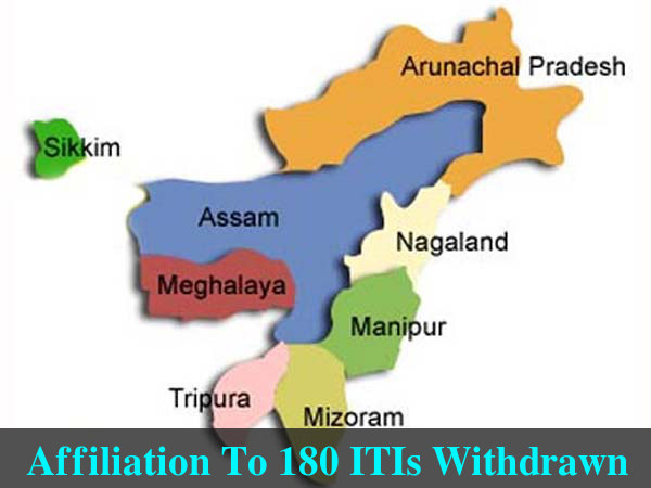 Affiliation To 180 ITIs Withdrawn In 3yrs