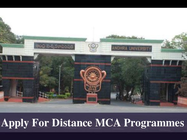 Apply For Distance MCA Programmes At Andhra Univ