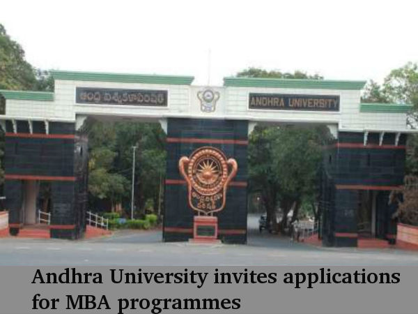 Andhra University Invites Applications For MBA