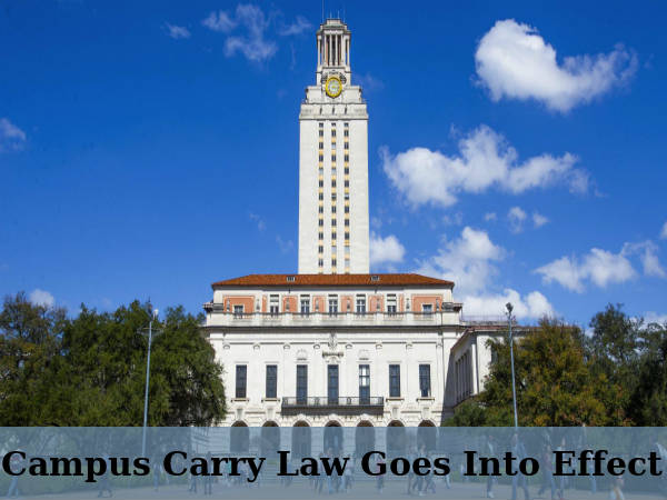 University Students in Texas Can Carry Handguns