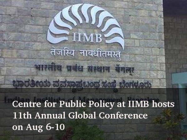 CPP at IIMB hosts 11th Annual Global Conference