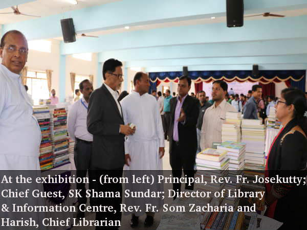 Jnana Darshan book exhibition at Kristu Jayanti