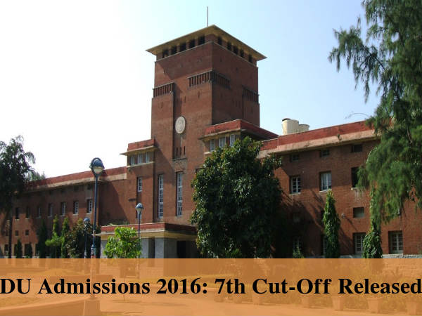 DU Admissions 2016: 7th Cut-Off Released