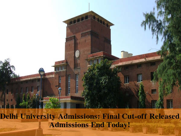 DU Admissions 2016: 8th Cut-Off Released