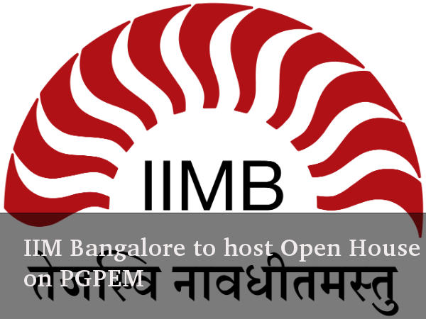 IIM Bangalore to host Open House on PGPEM