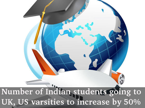 More Indian students to go to UK, US for study