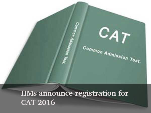 Register for CAT 2016
