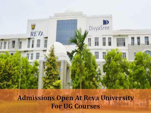Admissions At Reva University For UG Courses