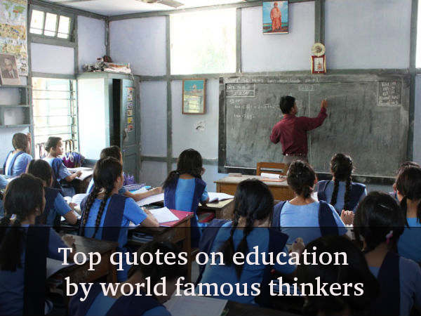 Teacher's Day: Quotes On Education