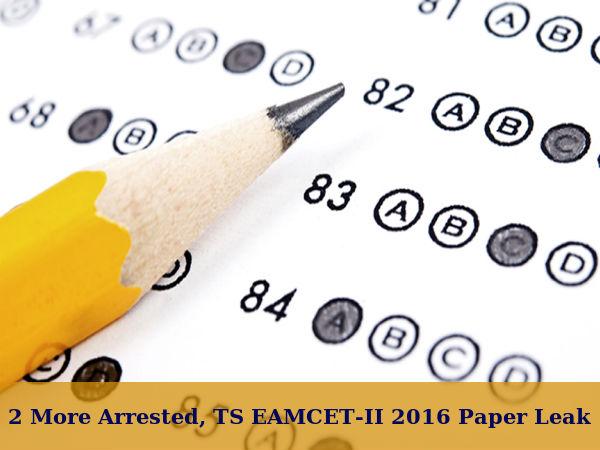 TS EAMCET-II Paper Leak: 2 More Offenders Nabbed