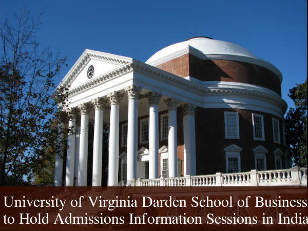 Darden MBA Programme Admission Info Sessions