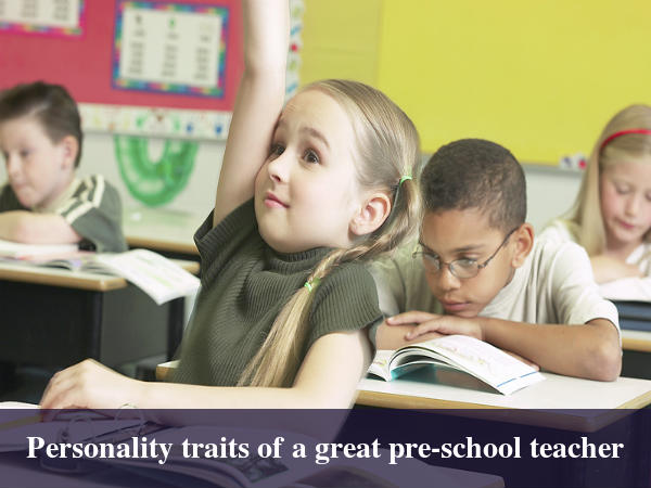 5 Skills That Make A Great Pre-School Teacher