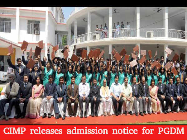 CIMP releases admission notice for PGDM