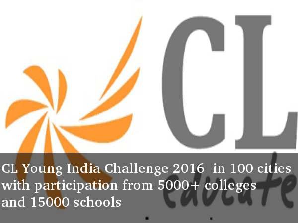 CL Young India Challenge 2016 to be held in 100 cities