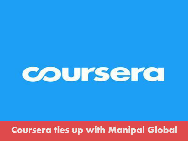 Coursera ties up with Manipal Global Education