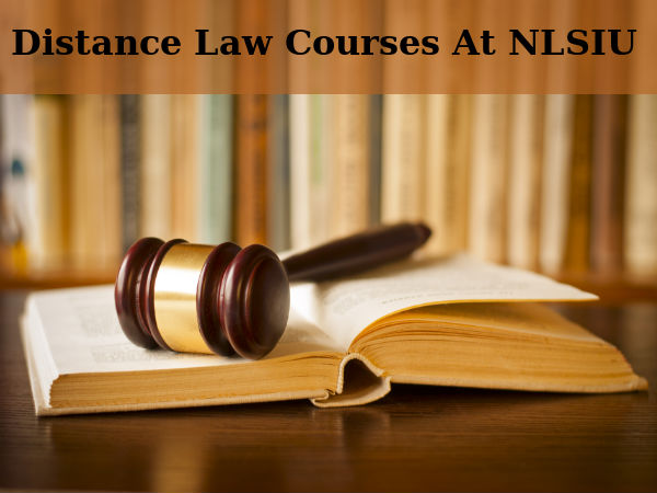 Apply For Distance Law Courses At NLSIU, Bangalore