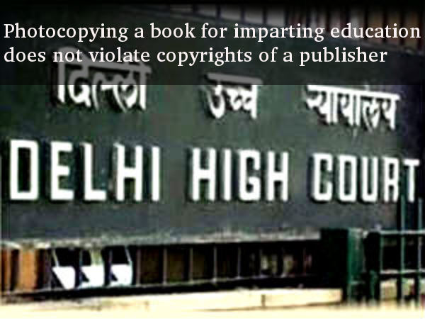 Does photocopying a book violate copyright?