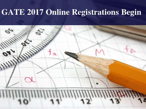 GATE 2017 Online Registration Process Begins Today