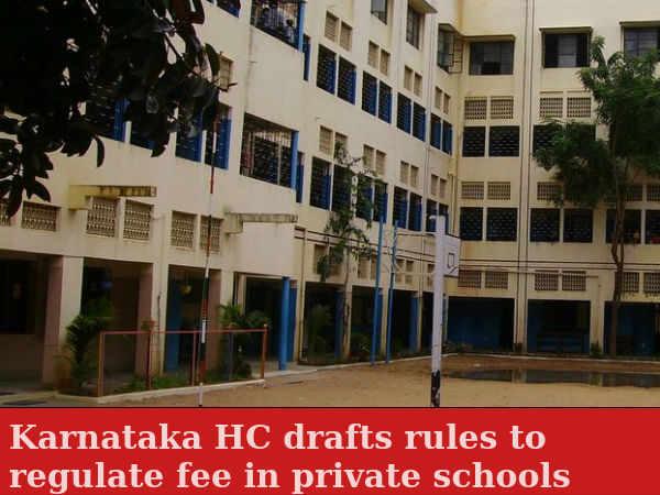 Karnataka HC asks private schools to regulate fee