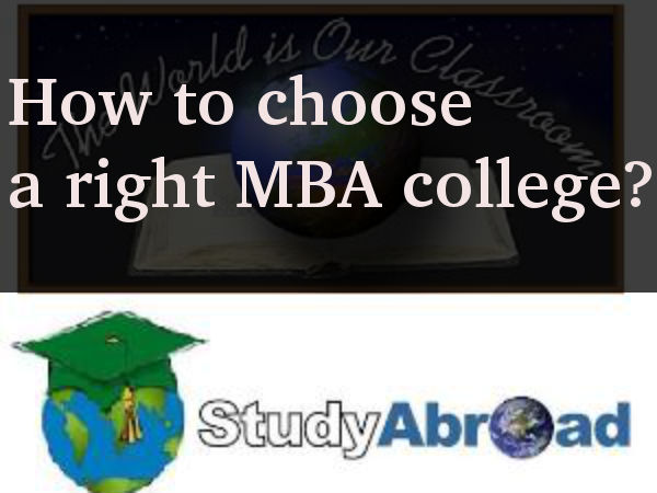 How to choose an MBA college abroad?