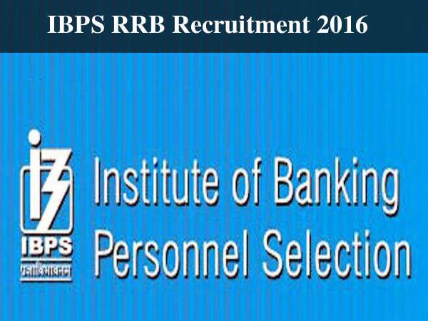 IBPS RRB Recruitment 2016