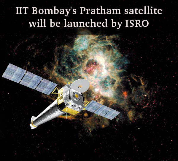 IIT Bombay's Pratham satellite will be launched by ISRO