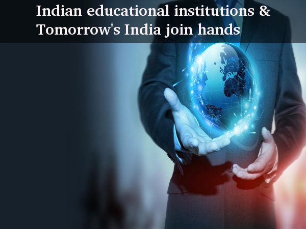 Indian educational institutions & Tomorrow's India