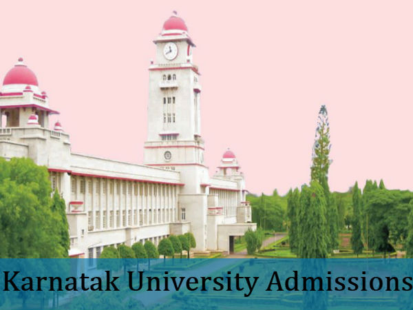 Admissions Open For UG/PG At Karnatak University