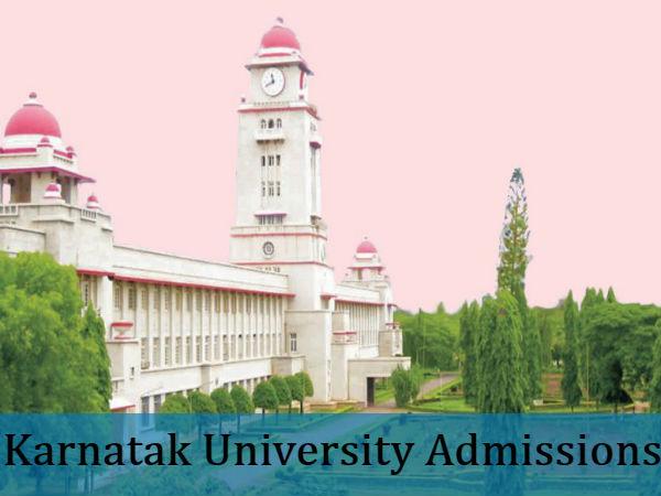 Admissions Open For UG/PG At Karnatak University