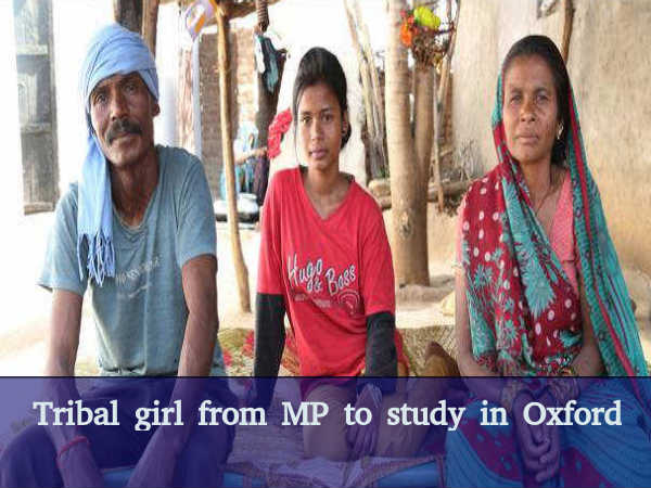 Tribal girl from MP to study in Oxford