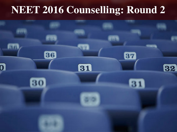 NEET 2016 2nd Round Counselling