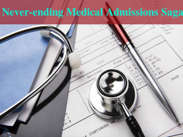 Never-ending Medical Admissions Saga
